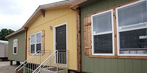 Doublewide-Mobile homes-exterior view